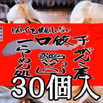 一口餃子30個入り(15個×2パック)