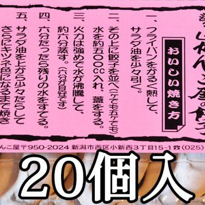 ジャンボ餃子20個入り(5個×4パック)