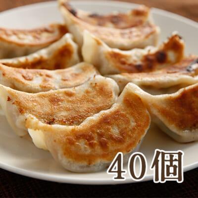 佐渡黒豚餃子 40個