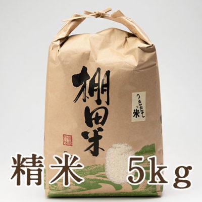 魚沼産コシヒカリ(棚田栽培)精米5kg