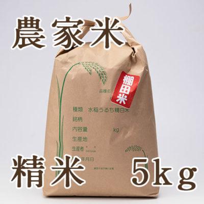 魚沼産コシヒカリ(棚田栽培)農家米 精米5kg