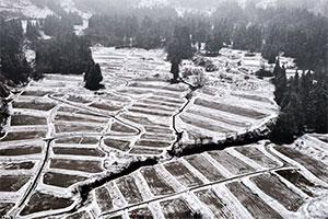 3.山間地において水を確保する積雪