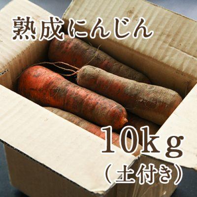 熟成にんじん(土付き)10kg