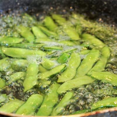 枝豆の濃厚な旨みと甘みが広がります