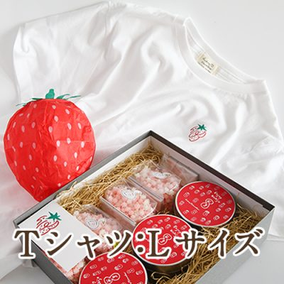 浮き星いちごセット(Tシャツ Lサイズ)
