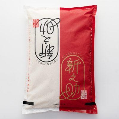 令和2年度米 糸魚川 早川産 新之助