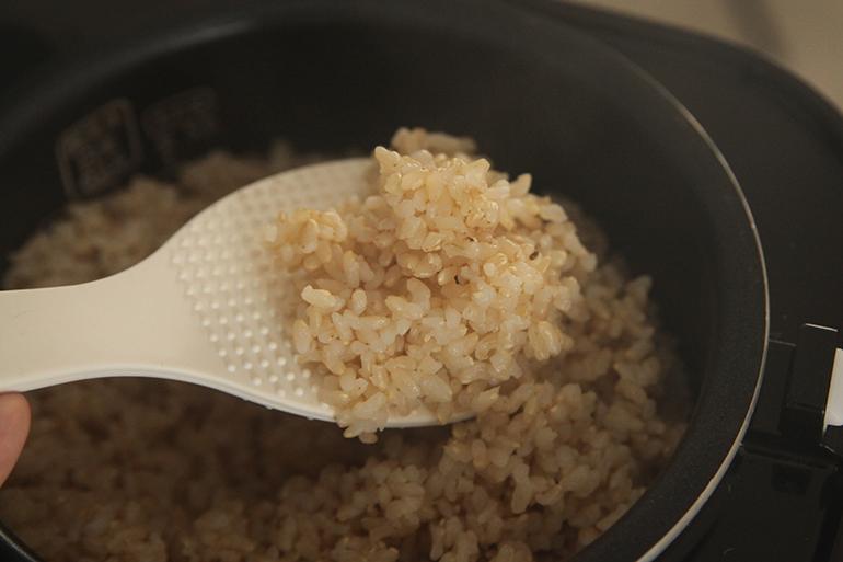 精米と玄米をご用意しました♪