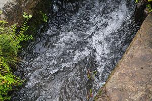 2.雪解け水がもたらす豊富な水源