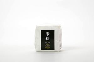 4.コシヒカリ100%の米粉