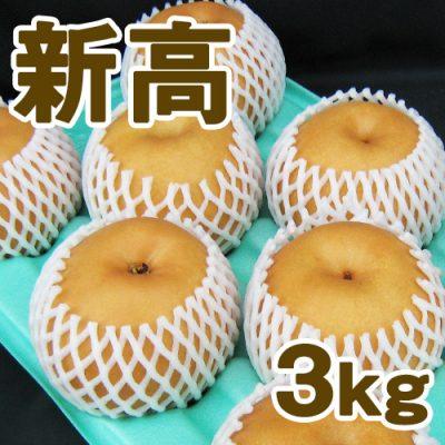 新高3kg(5~6個入り)