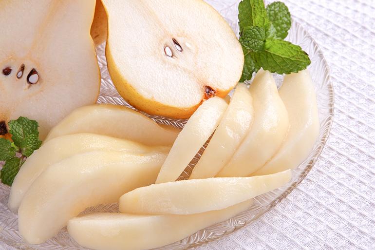 酸味が少なく甘味が非常に強い洋梨