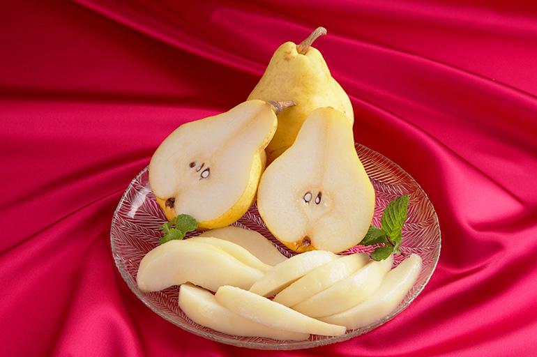 県内では「最も美味しい洋梨」とわれるル・レクチェ