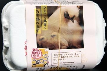 2.烏骨鶏(ウコッケイ)