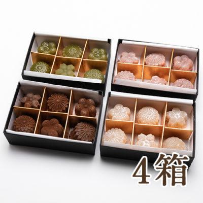 ショコラ羊羹 12粒入り 4箱