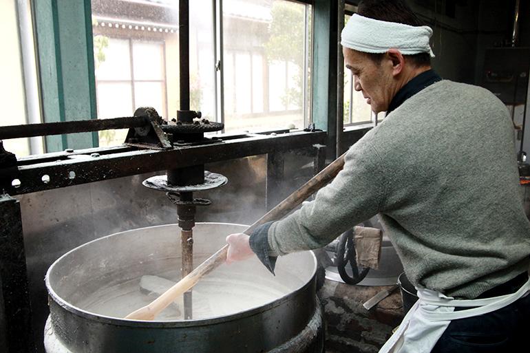 江戸時代から変わらず受け継がれる伝統の製法