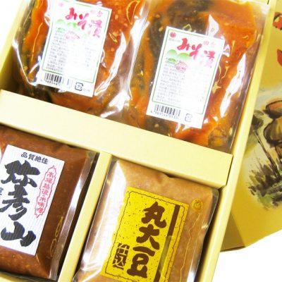 味の宴(田舎みそ漬・弥彦山・丸大豆仕込み)