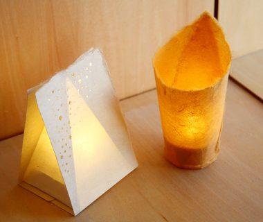 日本の手漉和紙 和灯(わあかり)