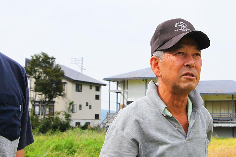 井口農場 代表 井口登さん