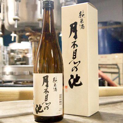 月不見の池 純米酒 1.8l(1升)