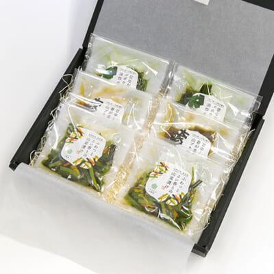 いろむすび山菜惣菜ギフト 3種6袋(化粧箱入)