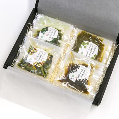いろむすび山菜惣菜ギフト 4種4袋(化粧箱入)