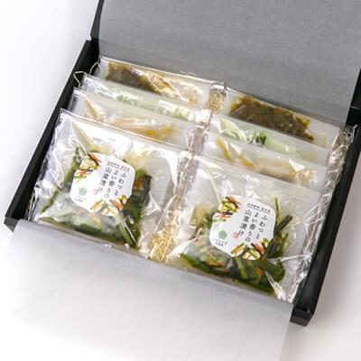 いろむすび山菜惣菜ギフト 4種8袋(化粧箱入)