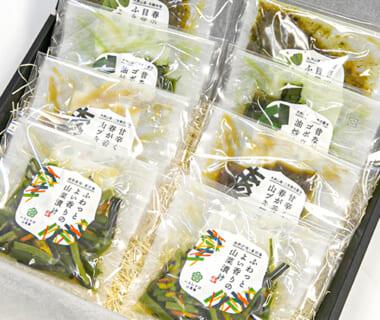 山菜惣菜のギフトセット