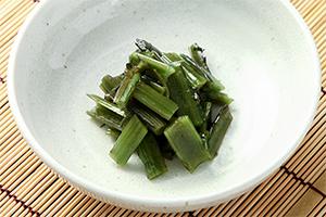 1.ゴボウアザミの油炒め