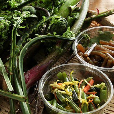 朝採り天然山菜&惣菜セット