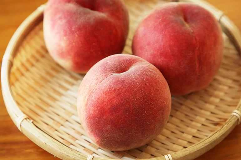 甘くとろけるような味わいは桃好き必食!