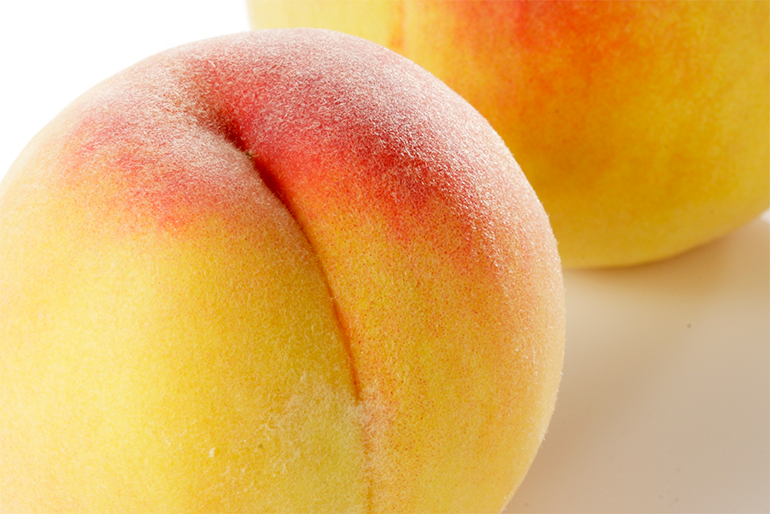 果樹の名産地が育んだ絶品の黄桃