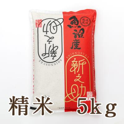 中魚沼産 新之助 精米5kg