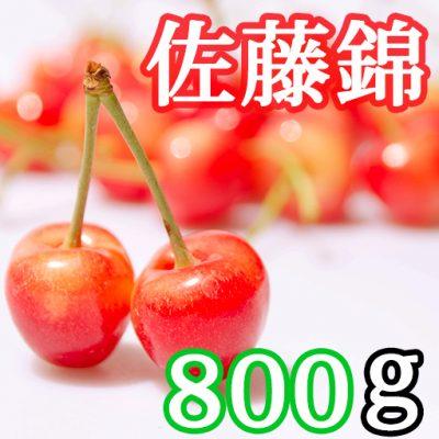新潟産さくらんぼ 佐藤錦 800g