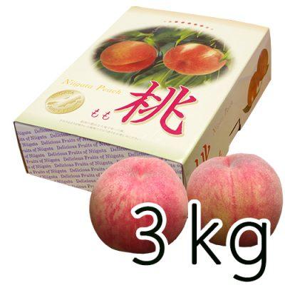 新潟産 岩福農園の完熟桃 3kg