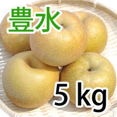 豊水 5kg (8~14玉入)
