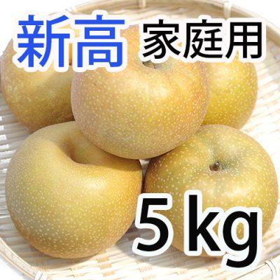 家庭用 新高 5kg (5~9玉入)