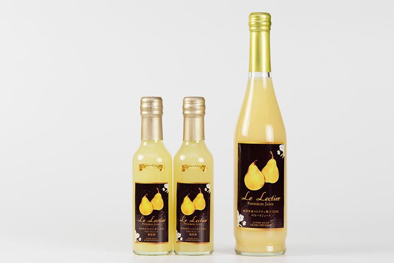 梨を知り尽くした果樹園が手掛ける果汁100%ジュース
