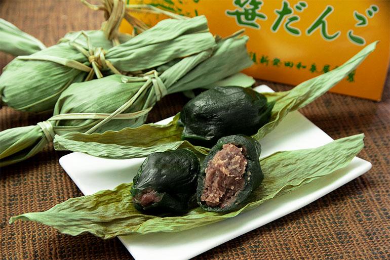 新潟県民の故郷の味!ヨモギ香る人気の笹団子です