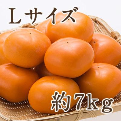 おけさ柿 赤秀 Lサイズ 約7kg(36玉入り)