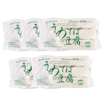うめてば豆腐 3パック入り×5袋