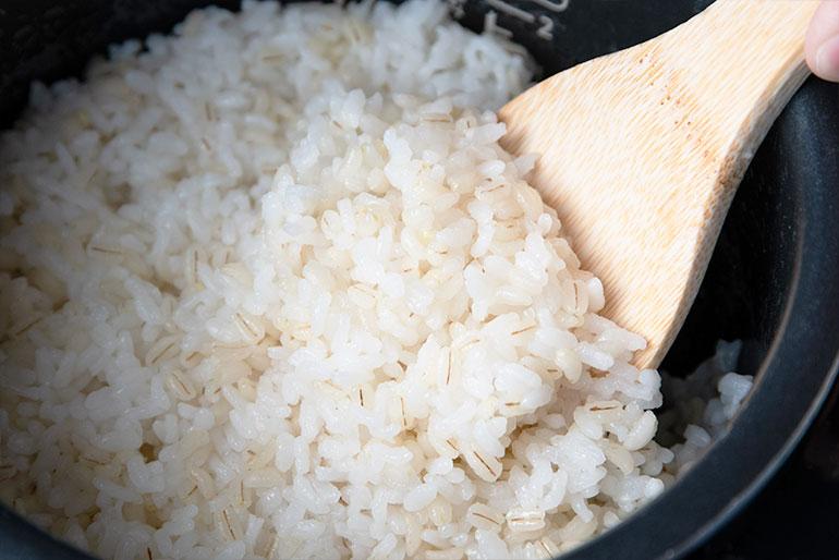 簡単!美味しい「もち麦」の調理方法