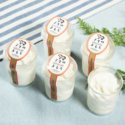 生乳ソフトクリーム 子牛のきもち