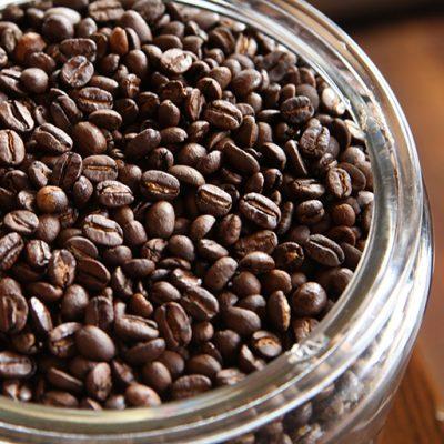 独自ブレンドのコーヒー豆