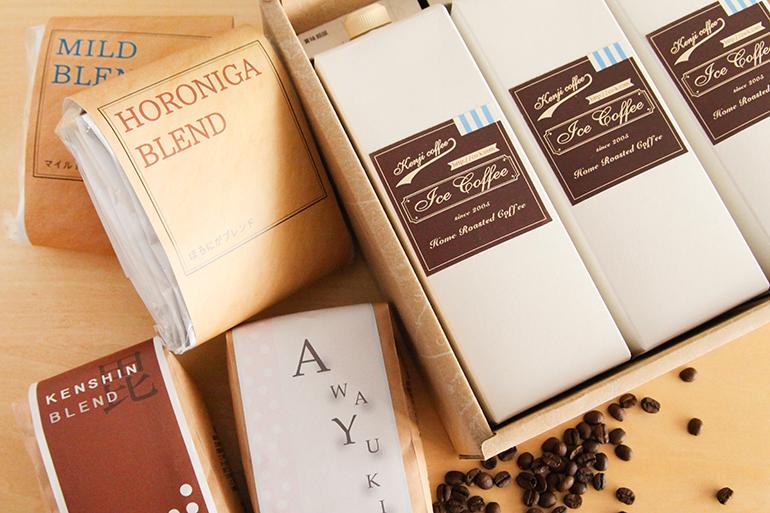 「珈琲工房かさはら」自慢のコーヒーギフト