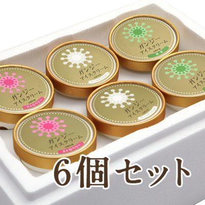 ガンジーアイスクリーム 6個セット