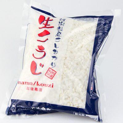 新潟県産コシヒカリの「生こうじ」