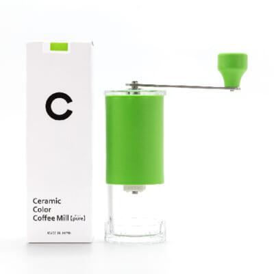 MILLCERA Ceramic Color Coffee Mill【pure】Green