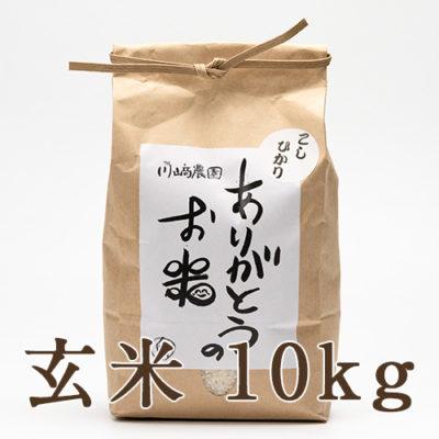 自然栽培米コシヒカリ 玄米10kg