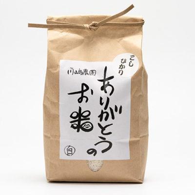 令和2年度米 自然栽培米コシヒカリ(従来品種)