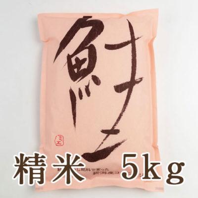 新潟産 コシヒカリ「鮭」精米5kg
